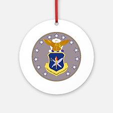 Air Force Officer School Keepsake (Round)