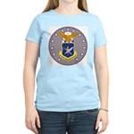 Air Force Officer School (Front) Women's Pink T-Sh