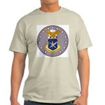 Air Force Officer School (Front) Ash Grey T-Shirt