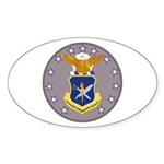 Air Force Officer School Oval Sticker