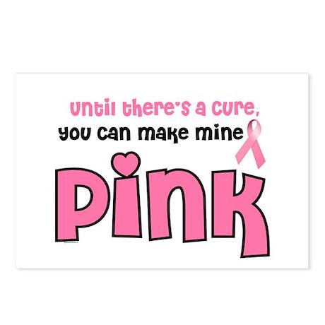 Make Mine PINK 8 Postcards (Package of 8)