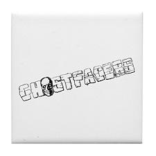 Cute Ghost Tile Coaster