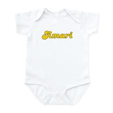Retro Amari (Gold) Infant Bodysuit