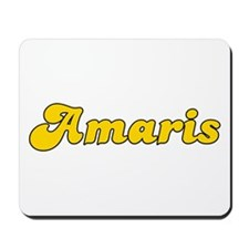 Retro Amaris (Gold) Mousepad