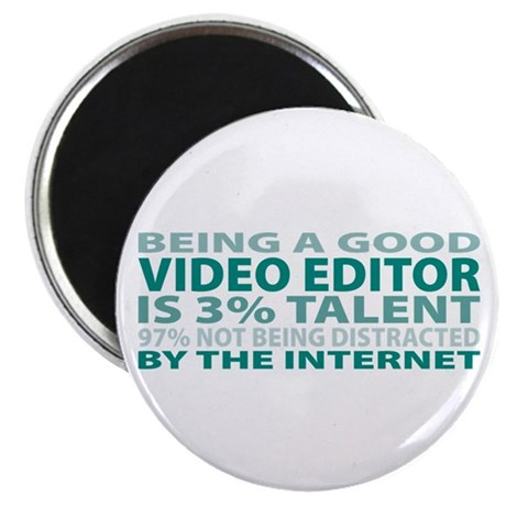 "Good Video Editor 2.25"" Magnet (10 pack)"