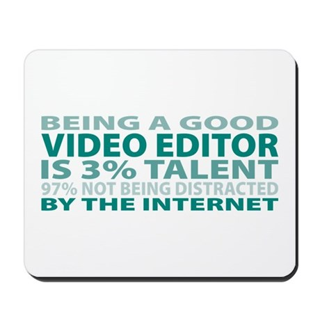 Good Video Editor Mousepad