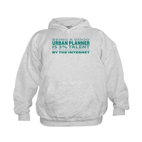 Good Urban Planner Kids Hoodie