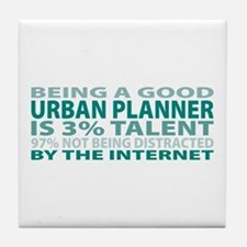 Good Urban Planner Tile Coaster
