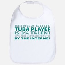 Good Tuba Player Bib