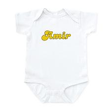 Retro Amir (Gold) Infant Bodysuit