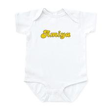 Retro Amiya (Gold) Infant Bodysuit
