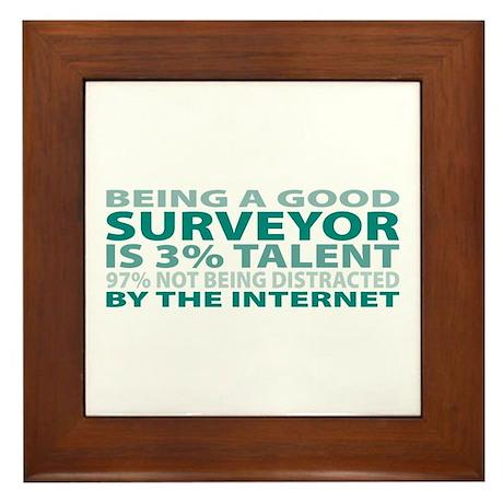 Good Surveyor Framed Tile