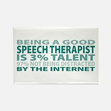 Good Speech Therapist Rectangle Magnet (10 pack)
