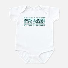 Good Sound Recorder Infant Bodysuit