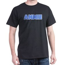 Retro Annie (Blue) T-Shirt