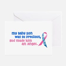 Angel 1 (Baby Son) Greeting Card