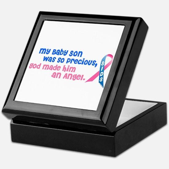 Angel 1 (Baby Son) Keepsake Box