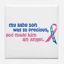Angel 1 (Baby Son) Tile Coaster