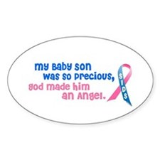 Angel 1 (Baby Son) Oval Decal