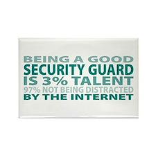 Good Security Guard Rectangle Magnet