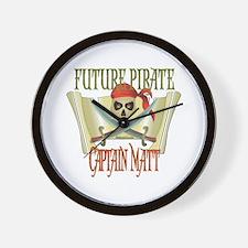 Captain Matt Wall Clock