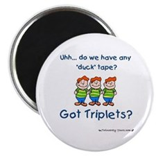 Got Triplets? - 3 Boys Duck T Magnet