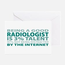 Good Radiologist Greeting Card