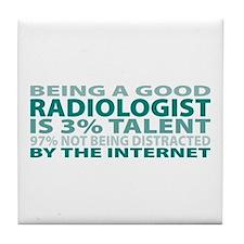 Good Radiologist Tile Coaster