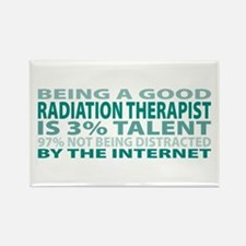 Good Radiation Therapist Rectangle Magnet