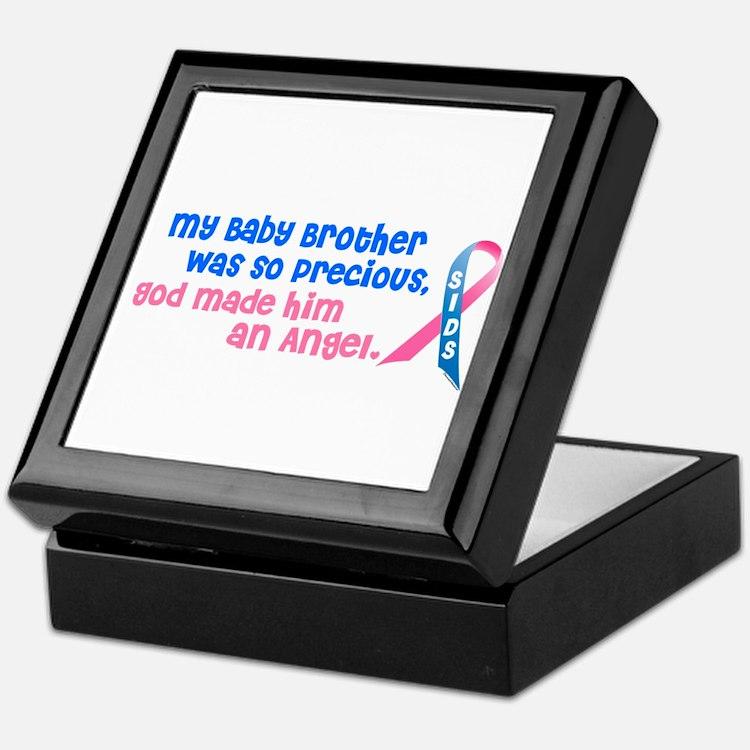 SIDS Angel 1 (Baby Brother) Keepsake Box