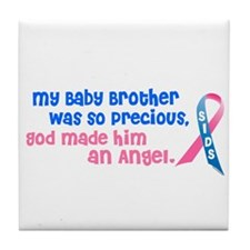 SIDS Angel 1 (Baby Brother) Tile Coaster