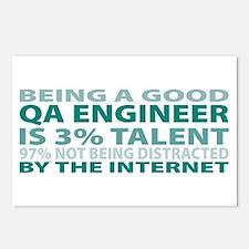 Good QA Engineer Postcards (Package of 8)
