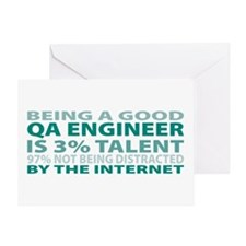 Good QA Engineer Greeting Card