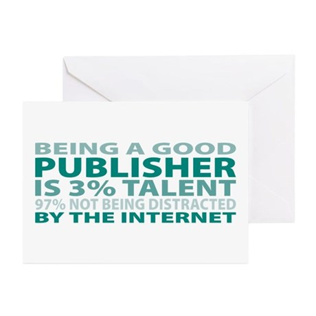 Good Publisher Greeting Cards (Pk of 10)