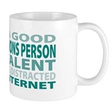 Good Public Relations Person Mug