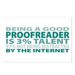 Good Proofreader Postcards (Package of 8)