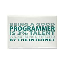 Good Programmer Rectangle Magnet (100 pack)
