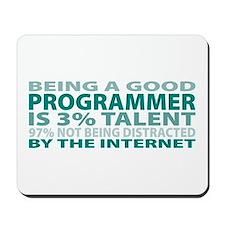 Good Programmer Mousepad