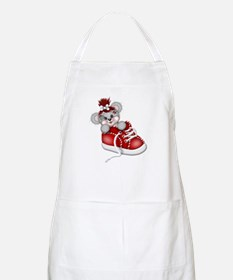 LITTLE SNEAKER (red) BBQ Apron