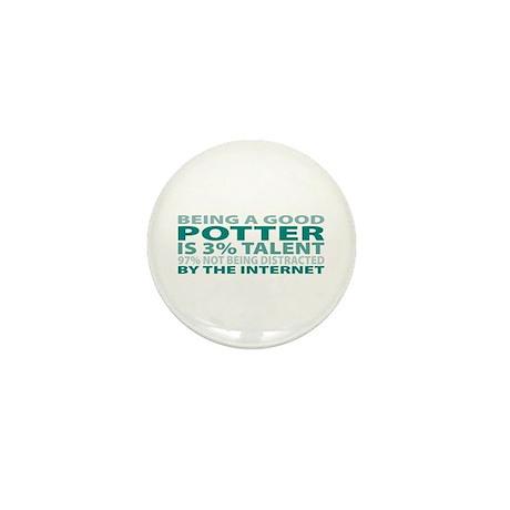 Good Potter Mini Button (10 pack)