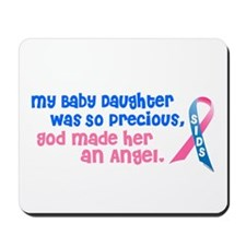 SIDS Angel 1 (Baby Daughter) Mousepad