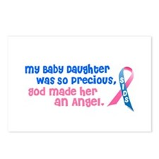 SIDS Angel 1 (Baby Daughter) Postcards (Package of