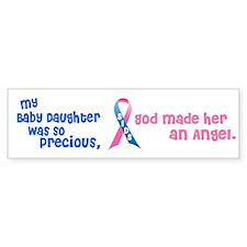 SIDS Angel 1 (Baby Daughter) Bumper Bumper Sticker