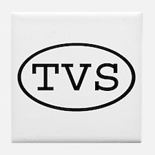 TVS Oval Tile Coaster