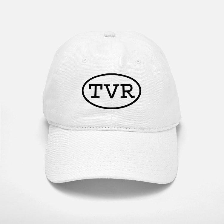 TVR Oval Baseball Baseball Cap