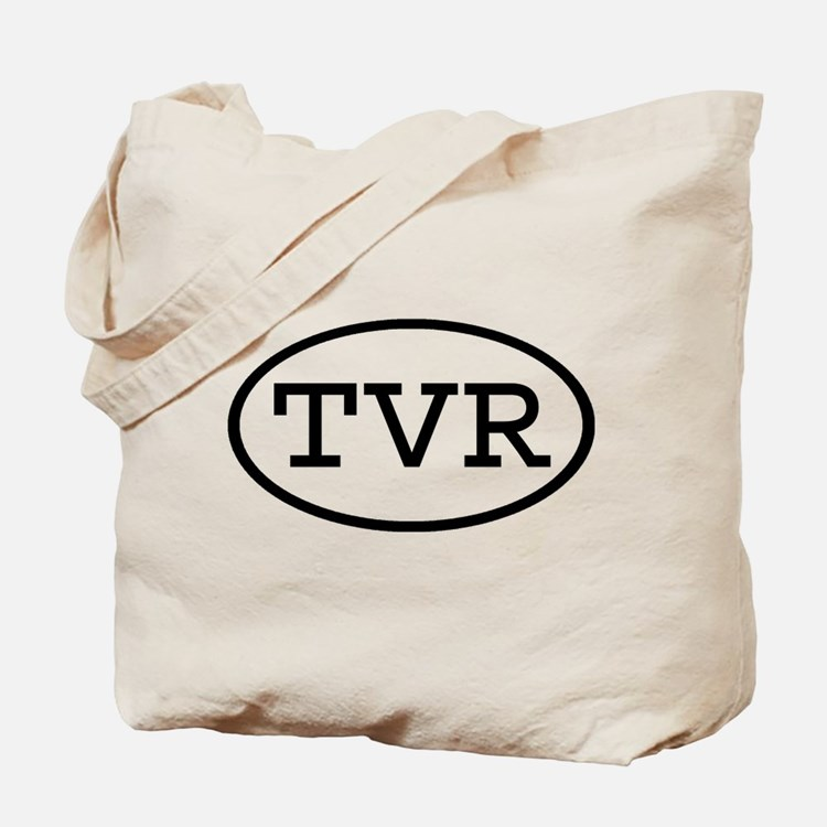 TVR Oval Tote Bag