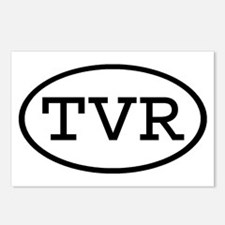 TVR Oval Postcards (Package of 8)