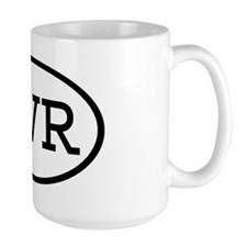 TVR Oval Mug