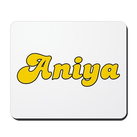Retro Aniya (Gold) Mousepad