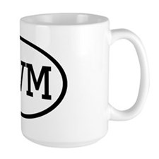 TVM Oval Mug